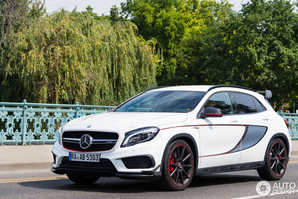 mercedes benz gla 45 amg edition 1 1 june 2014 autogespot. Black Bedroom Furniture Sets. Home Design Ideas
