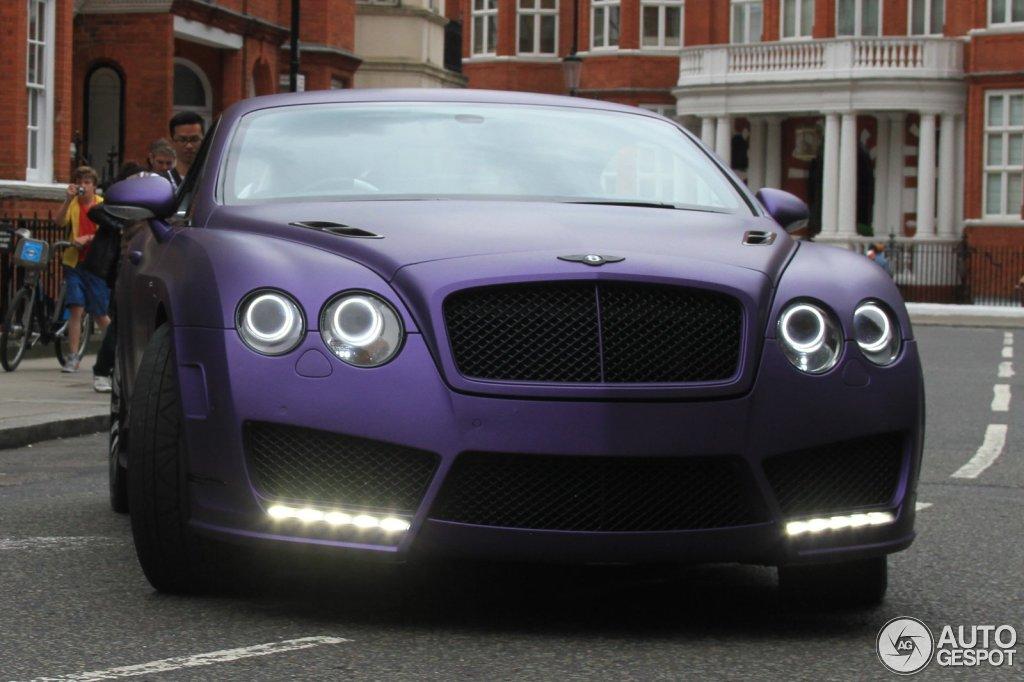 Bentley Mansory Continental Gt Speed 2 Juni 2014