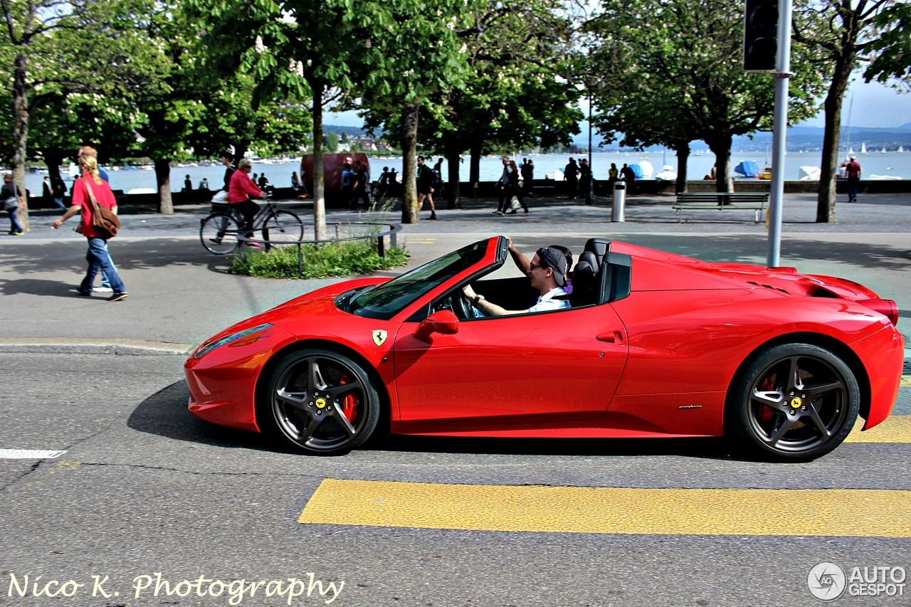 2017 Ferrari 458 Price >> Ferrari 458 Spider - 2 June 2014 - Autogespot