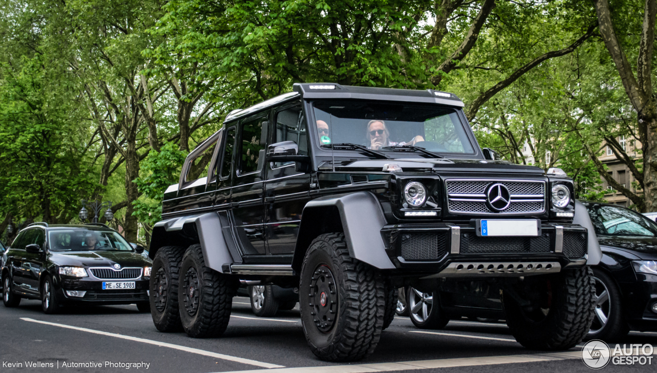 Mercedes benz g 63 amg 6x6 4 june 2014 autogespot for Mercedes benz amg 6x6 price