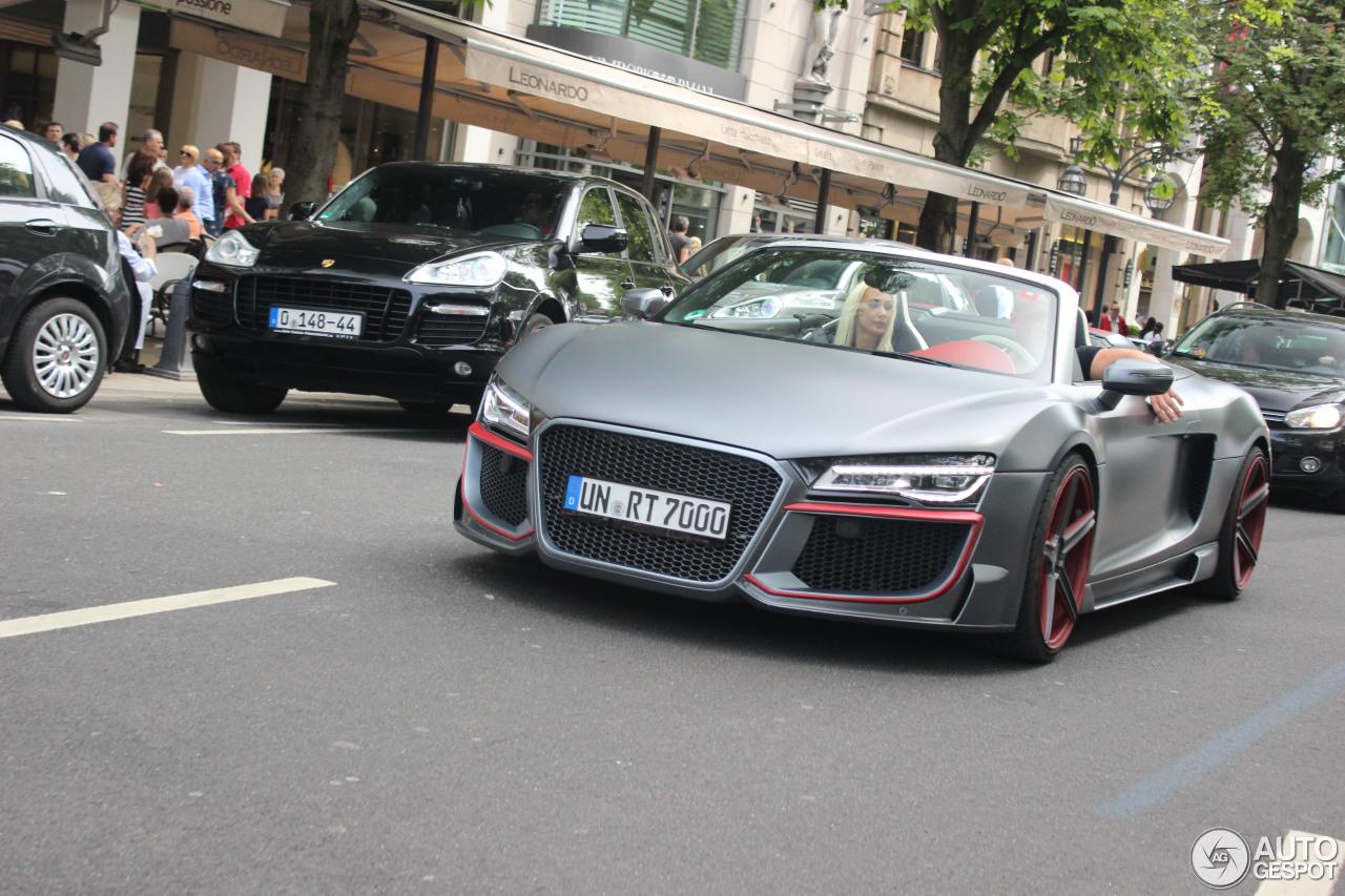 Audi r8 spyder black 2013 13