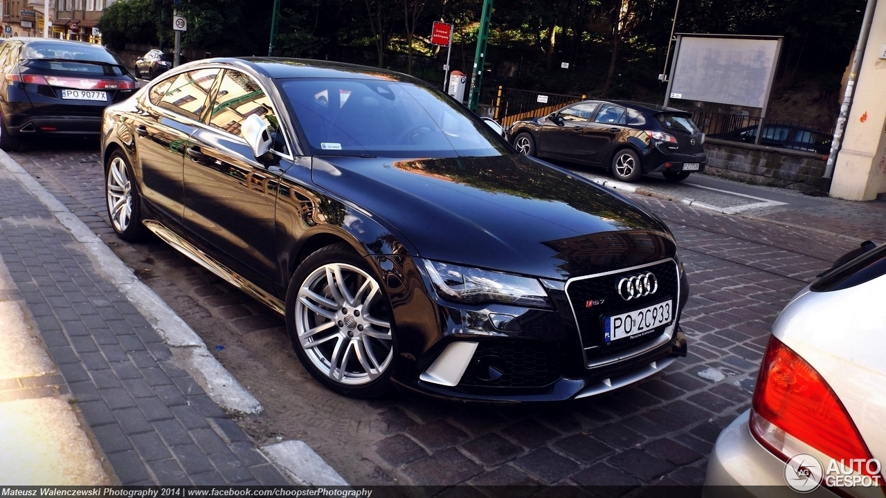 audi rs7 sportback 7 juin 2014 autogespot. Black Bedroom Furniture Sets. Home Design Ideas