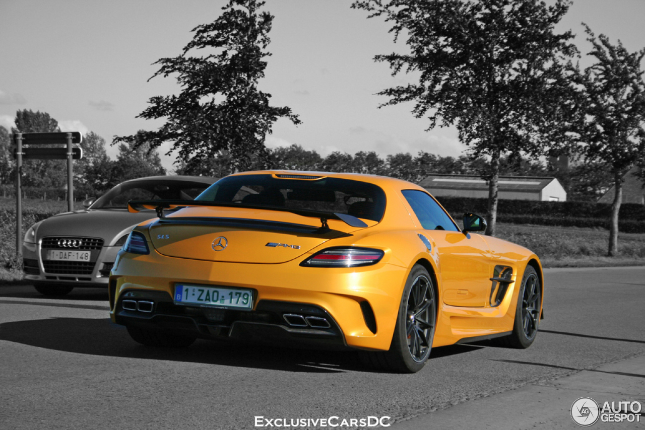 mercedes benz sls amg black series 7 june 2014 autogespot. Black Bedroom Furniture Sets. Home Design Ideas