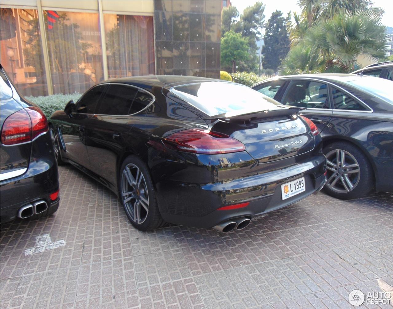 Porsche Panamera Turbo S Executive Mkii 8 June 2014