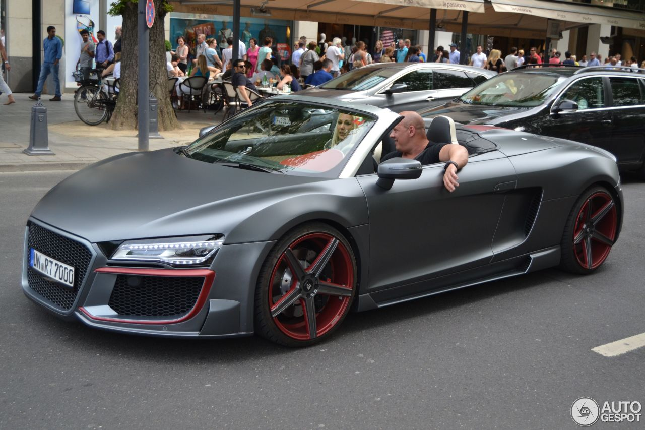 audi r8 v10 spyder 2013 regula tuning 9 juin 2014 autogespot. Black Bedroom Furniture Sets. Home Design Ideas