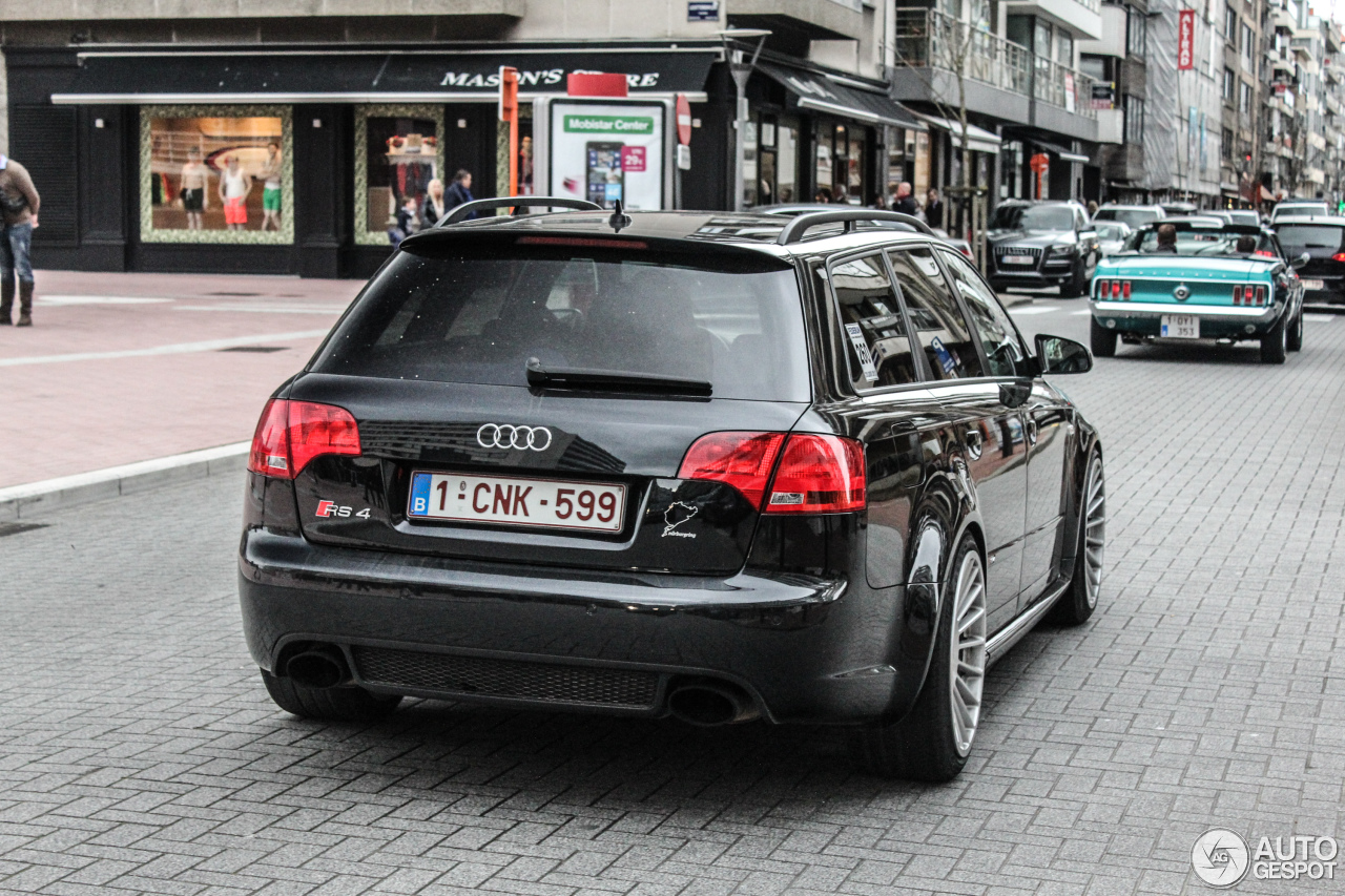 Audi rs4 b7 avant weight