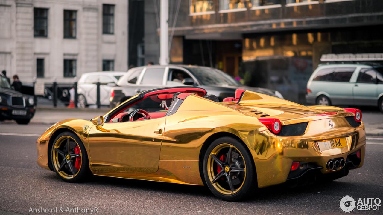 Ferrari 458 Spider 10 Juni 2014 Autogespot
