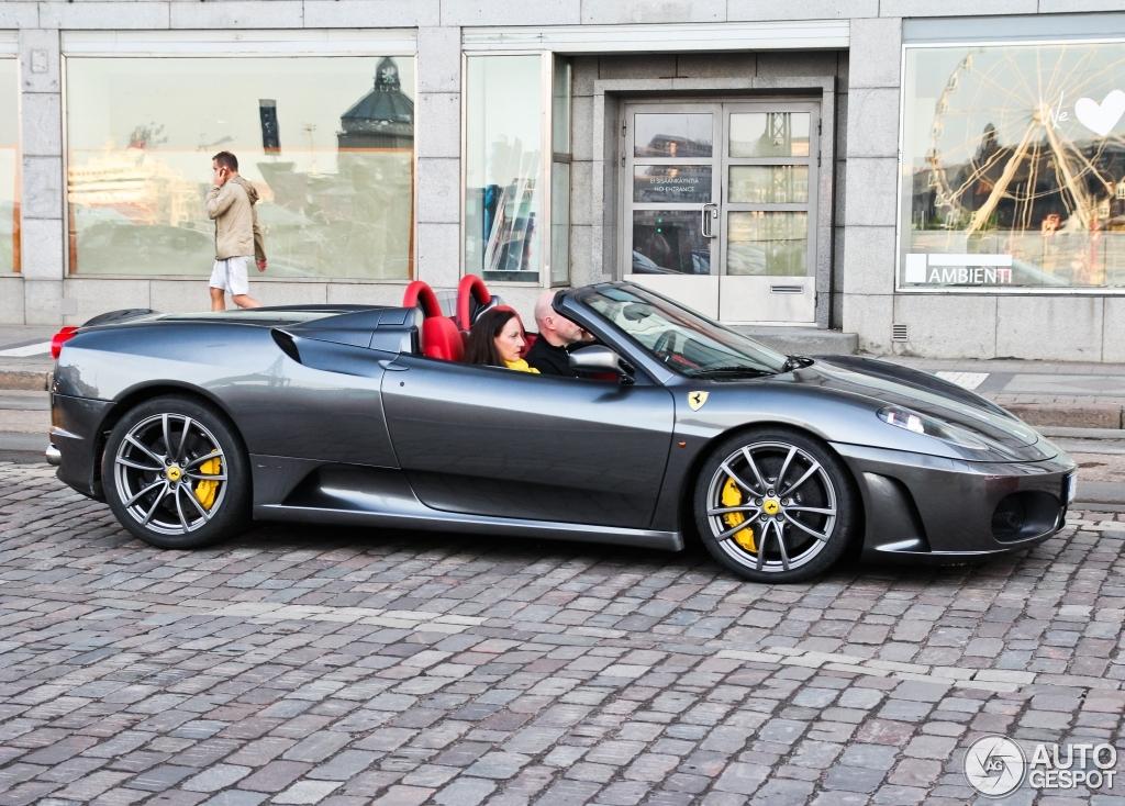 Ferrari F430 Spider 10 June 2014 Autogespot