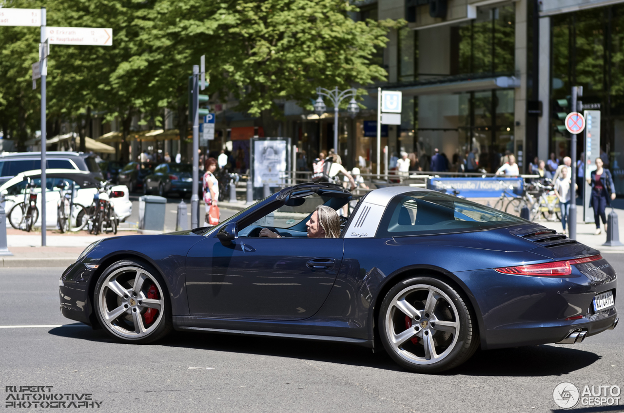 Porsche 991 Targa 4s 12 June 2014 Autogespot