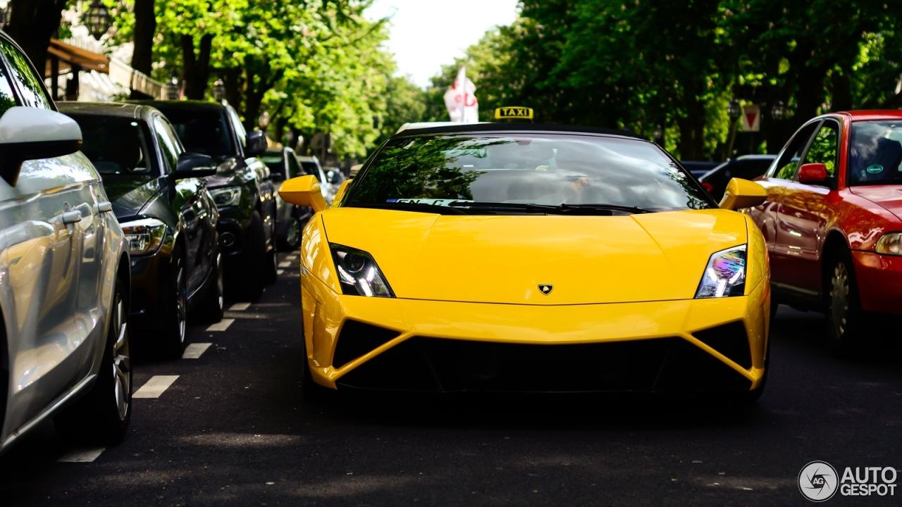 The Gallery For Gt Lamborghini Gallardo Spyder Lp560 4