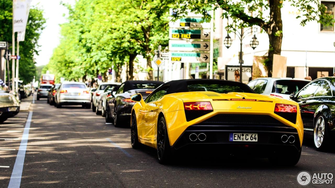 3 i lamborghini gallardo lp560 4 spyder 2013 3 - Lamborghini Gallardo Spyder Black 2013