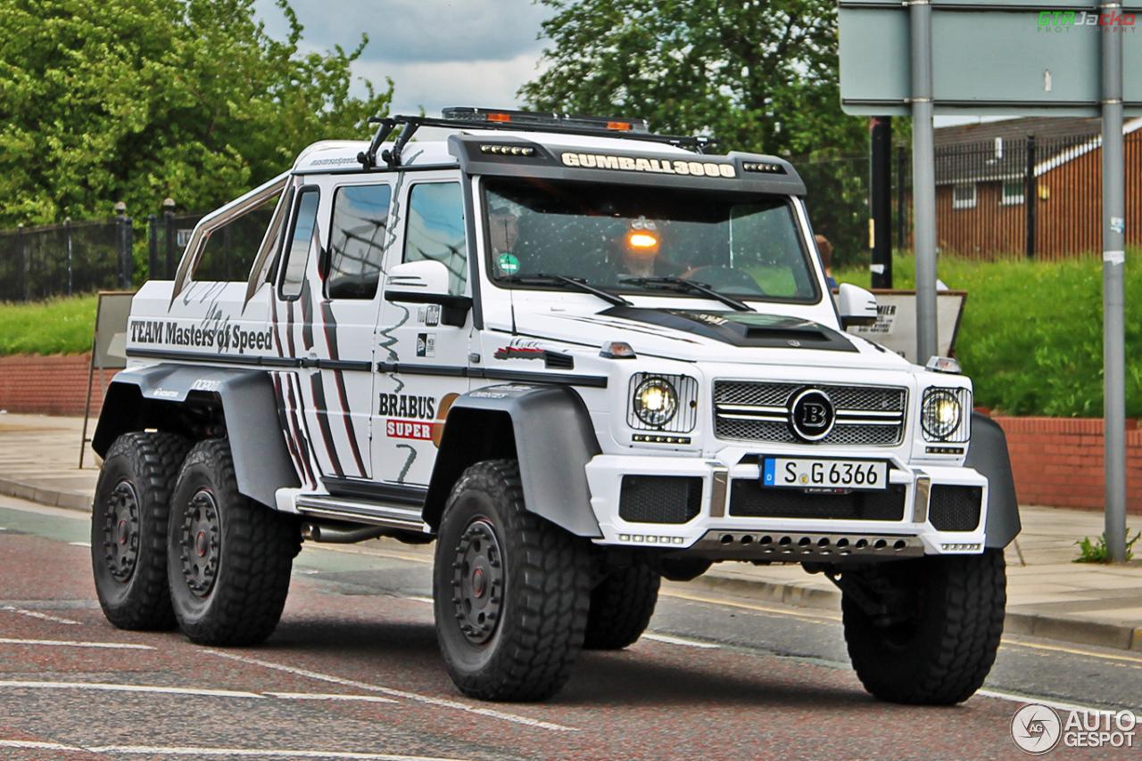 MercedesBenz Brabus B63S 700 6x6  13 June 2014  Autogespot