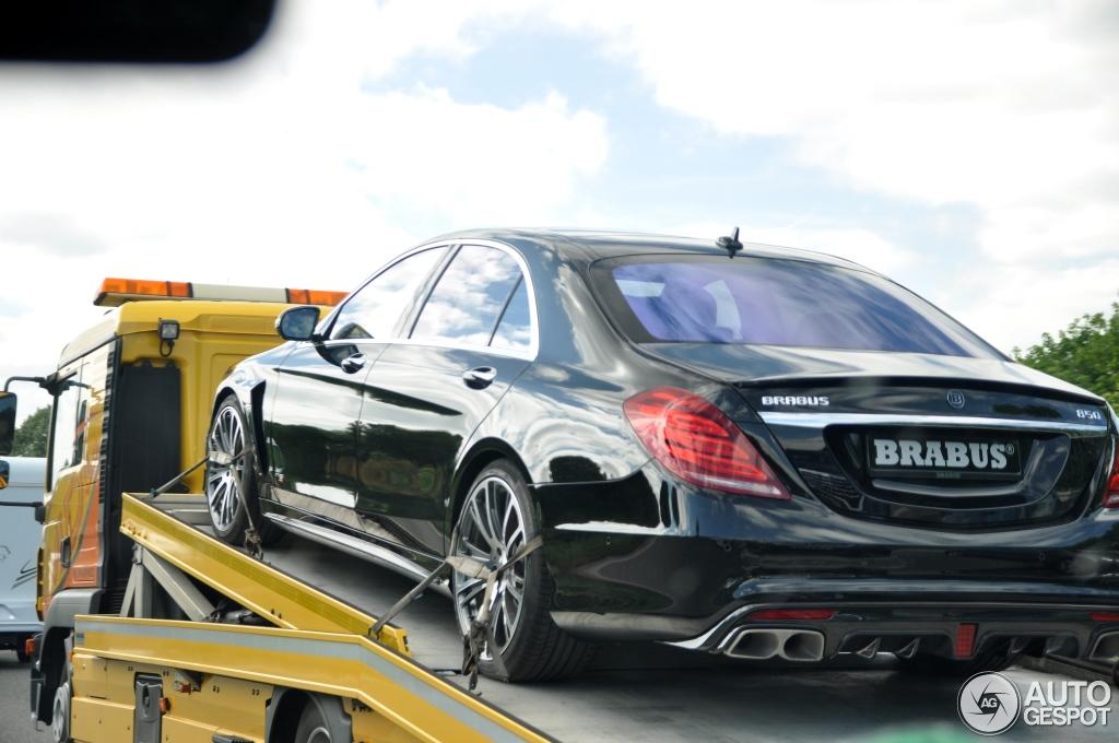Mercedes benz brabus 850 6 0 biturbo w222 14 june 2014 for Mercedes benz 850