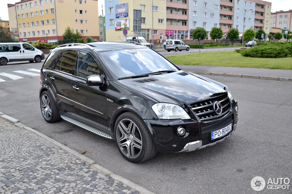 mercedes benz ml 63 amg w164 2009 16 june 2014 autogespot. Black Bedroom Furniture Sets. Home Design Ideas