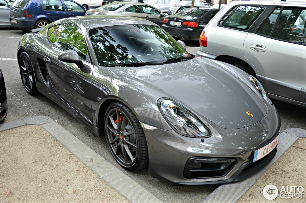 porsche 981 cayman gts 17 june 2014 autogespot. Black Bedroom Furniture Sets. Home Design Ideas