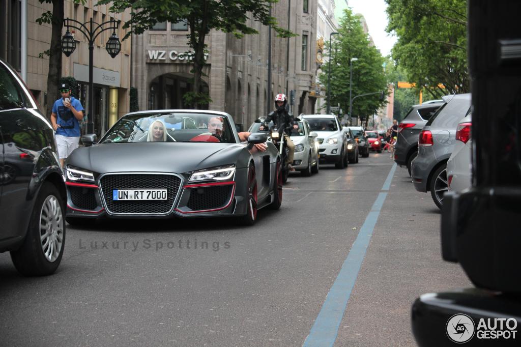 Audi R8 V10 Spyder 2013 Regula Tuning 19 June 2014