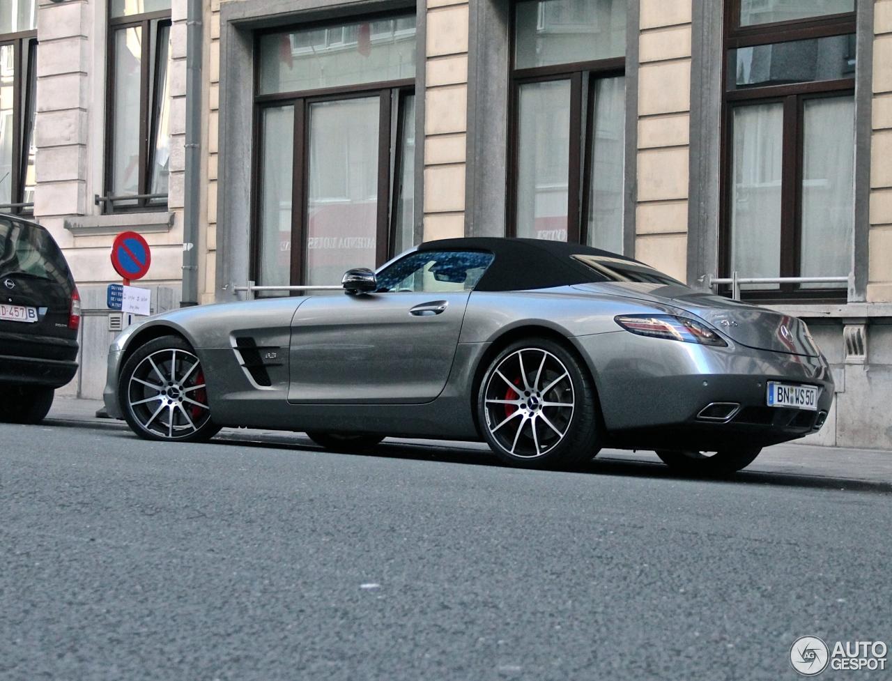 Mercedes benz sls amg gt roadster 20 june 2014 autogespot for 2014 mercedes benz sls amg price