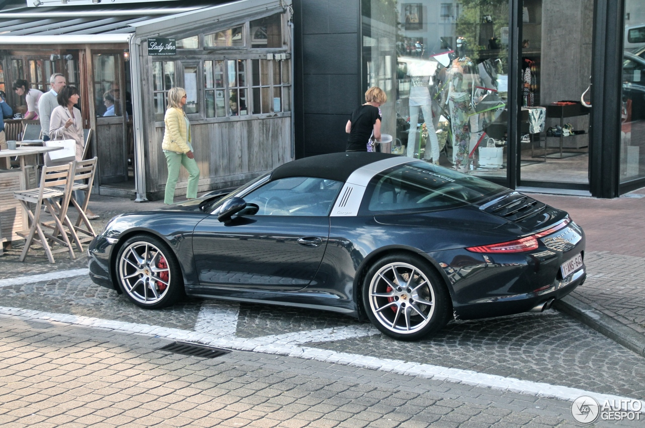 Porsche 991 Targa 4s 20 June 2014 Autogespot