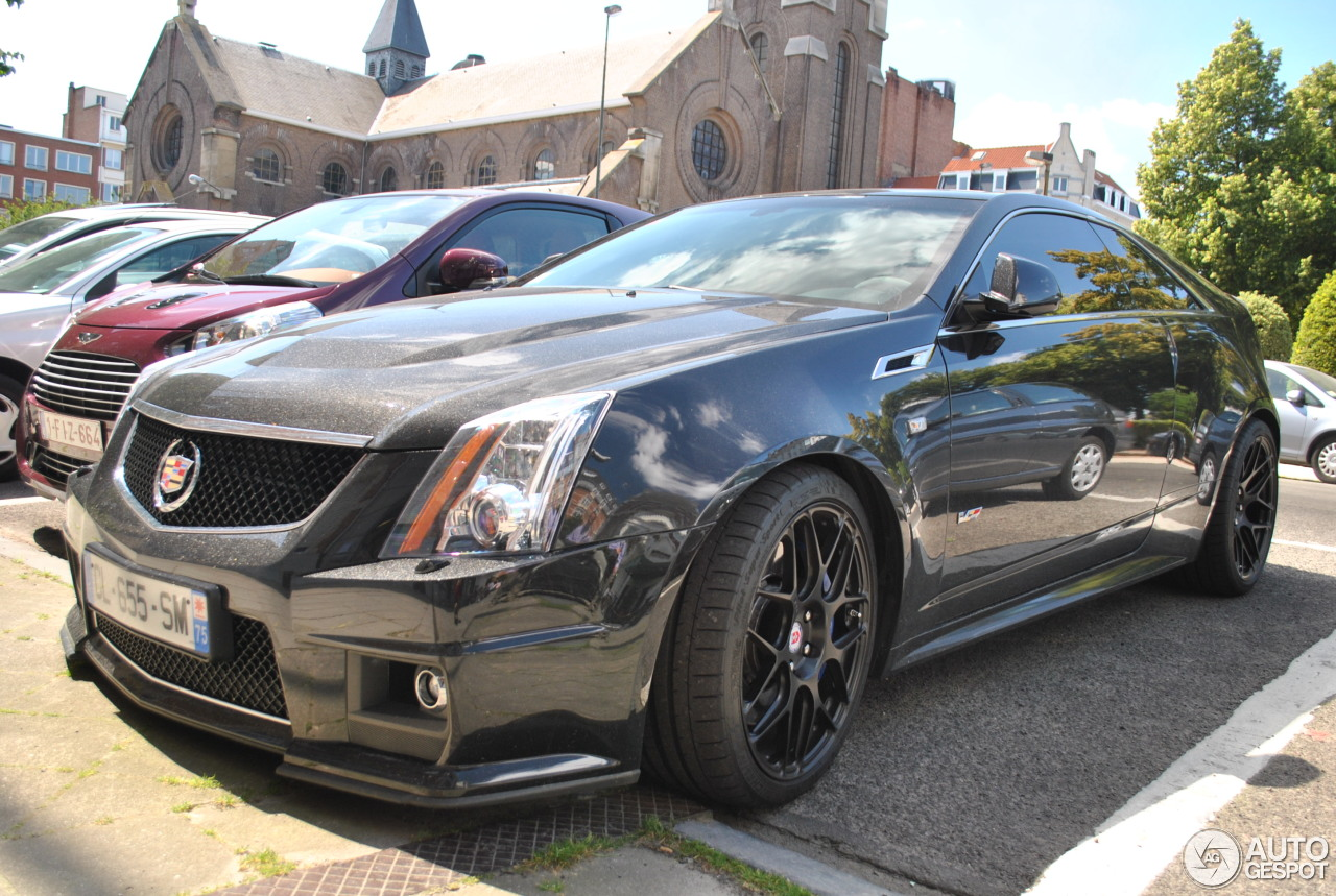 cadillac cts v coupe hennessey v700 23 june 2014 autogespot. Black Bedroom Furniture Sets. Home Design Ideas