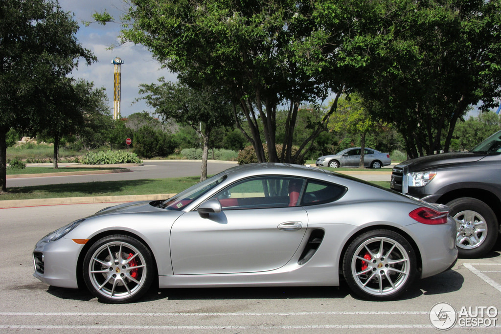 porsche 981 cayman s 24 june 2014 autogespot. Black Bedroom Furniture Sets. Home Design Ideas