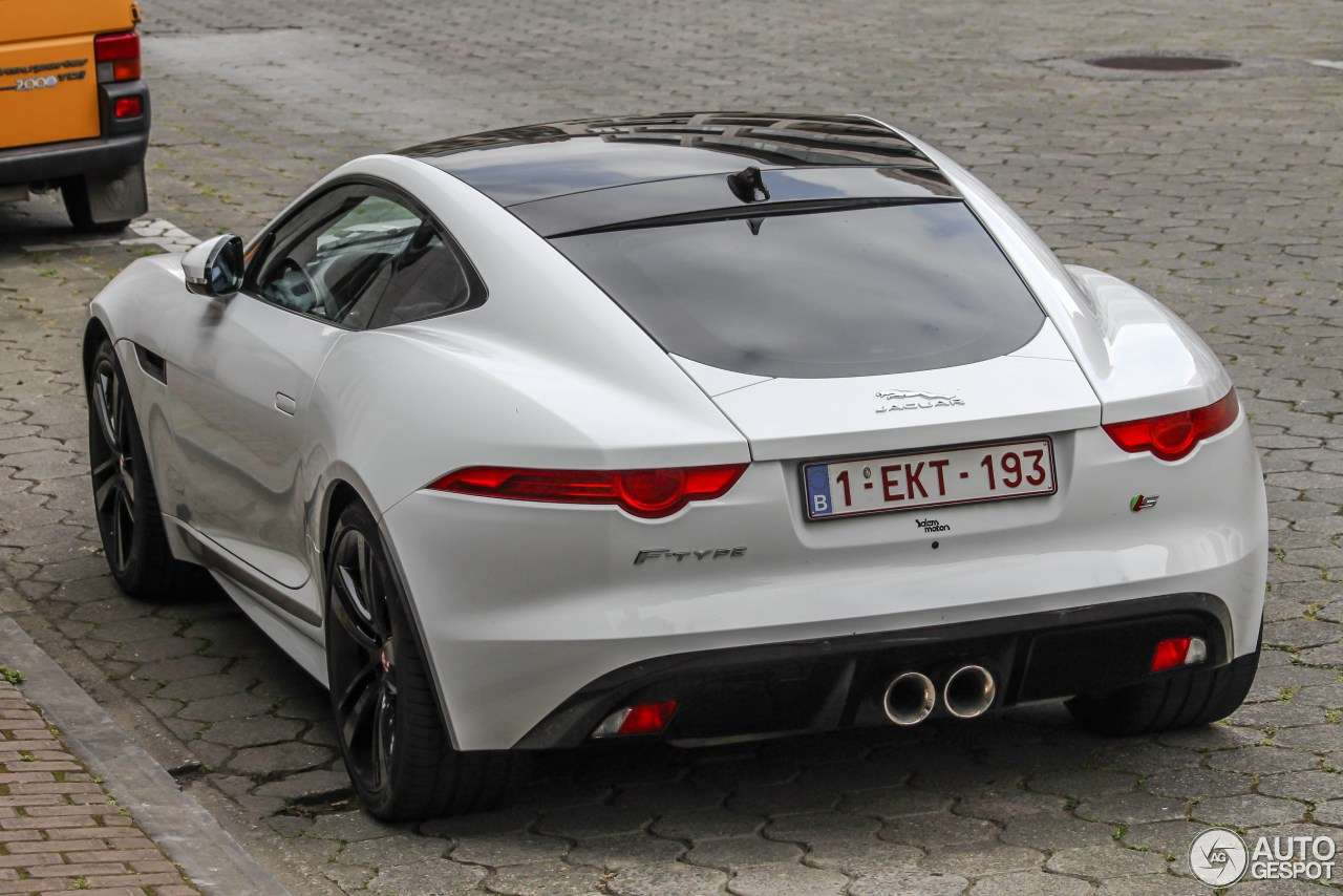 jaguar f type s coup 25 june 2014 autogespot. Black Bedroom Furniture Sets. Home Design Ideas