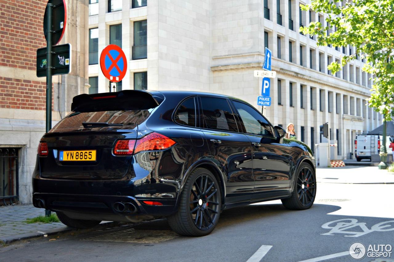 Porsche Cayenne Turbo Techart 2011 27 June 2014 Autogespot