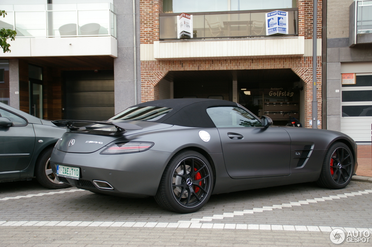 mercedes benz sls amg gt roadster final edition 28 juin. Black Bedroom Furniture Sets. Home Design Ideas