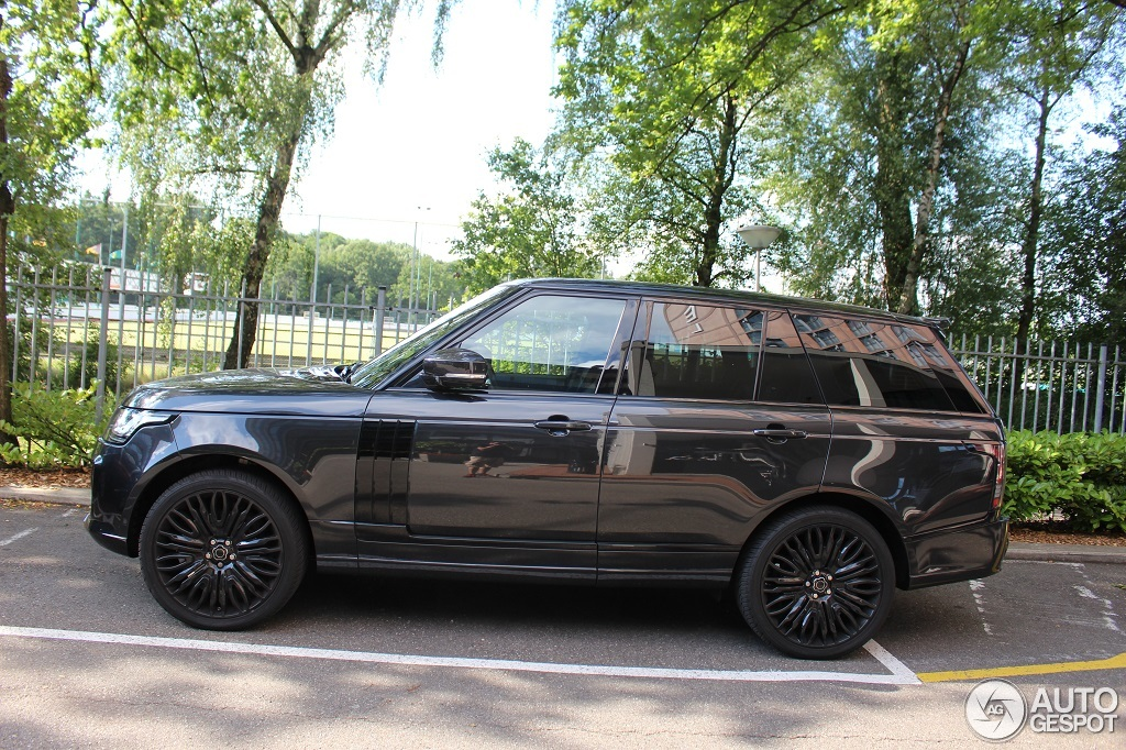 Land Rover Overfinch Range Rover L405 30 June 2014