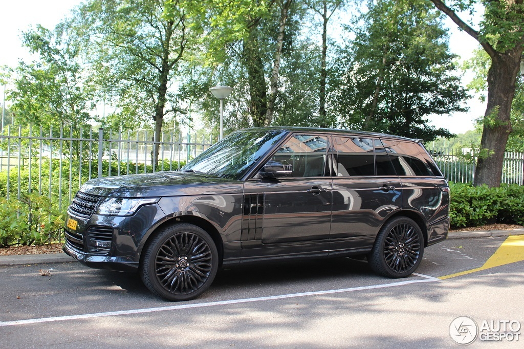 Land Rover Overfinch Range Rover L405 - 30 June 2014 ...