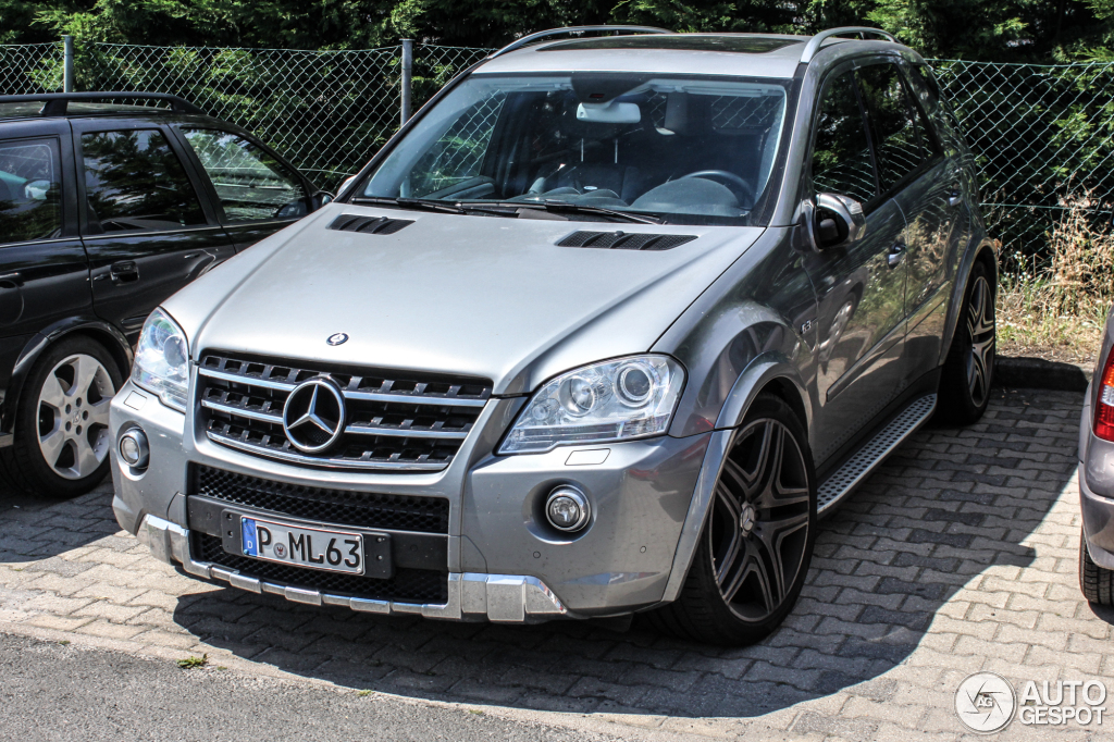 Mercedes Benz Ml 63 Amg W164 2009 4 July 2014 Autogespot