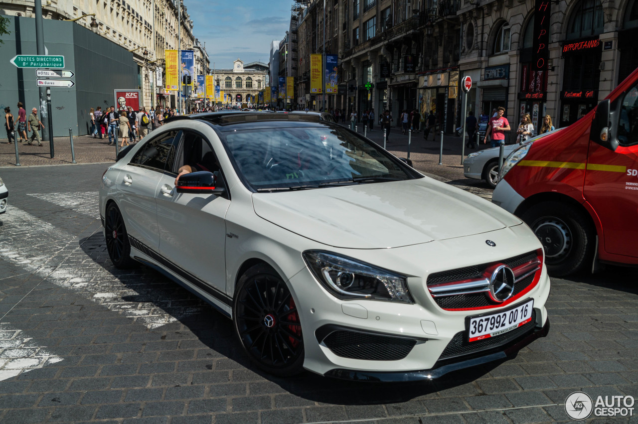Mercedes Benz Cla 45 Amg Edition 1 C117 5 Juillet 2014