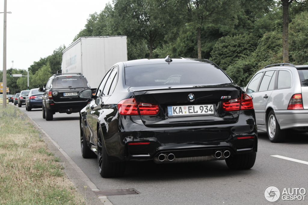 Bmw M3 F80 Sedan 2014 6 July 2014 Autogespot