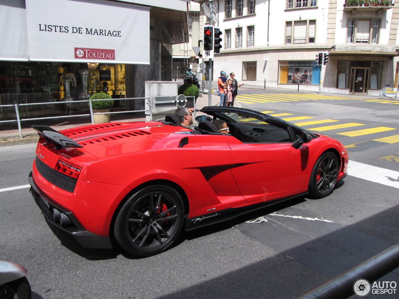 Lamborghini Gallardo Lp570 4 Spyder Performante 6 July
