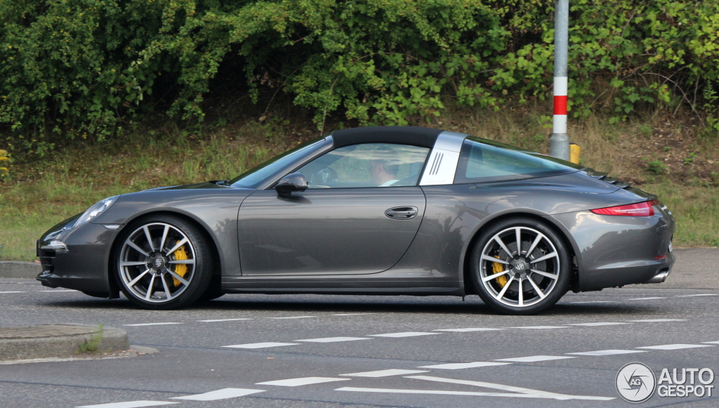 porsche 991 targa 4s 12 juillet 2014 autogespot. Black Bedroom Furniture Sets. Home Design Ideas