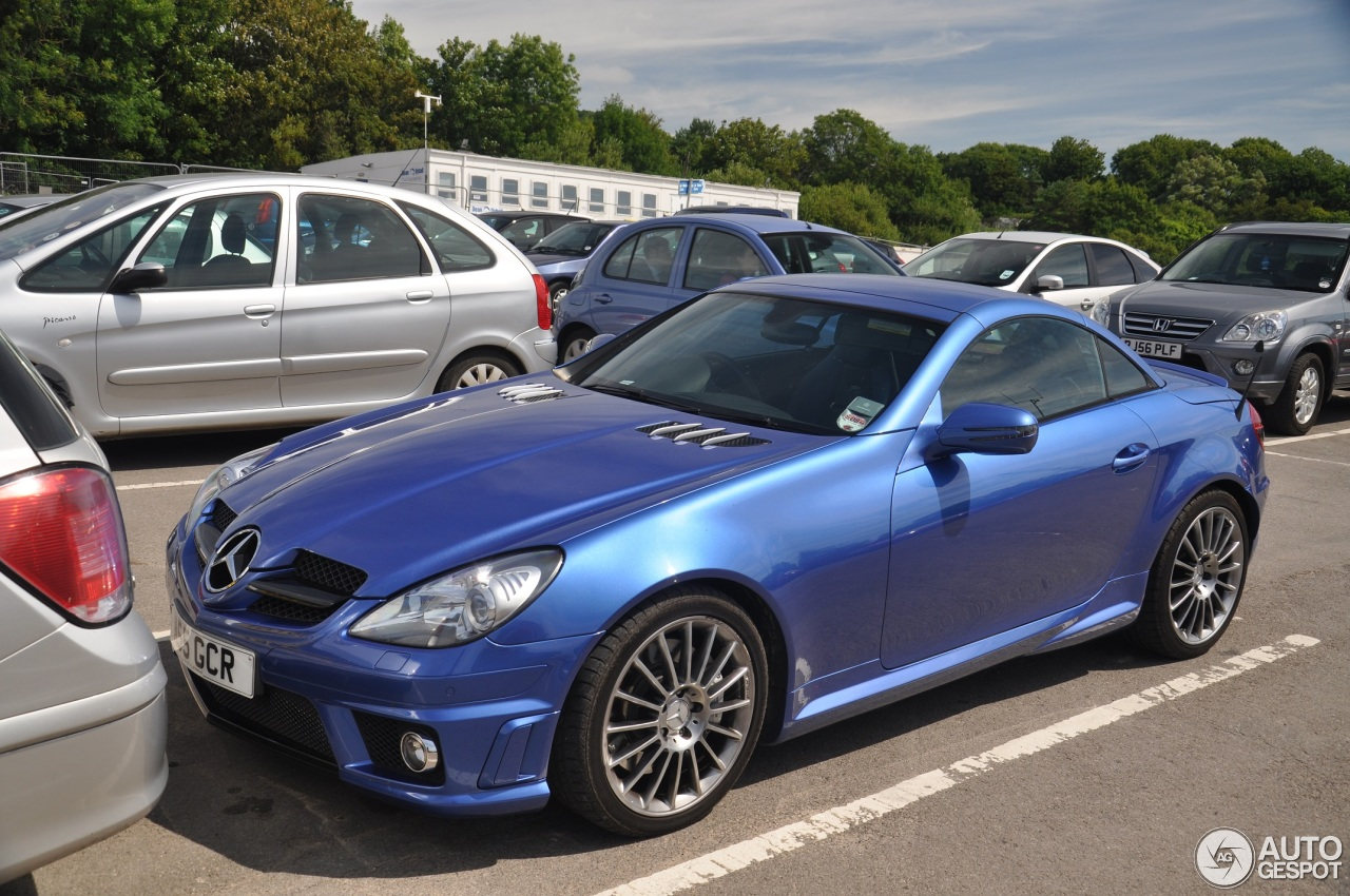 mercedes benz slk 55 amg r171 2007 13 july 2014 autogespot. Black Bedroom Furniture Sets. Home Design Ideas
