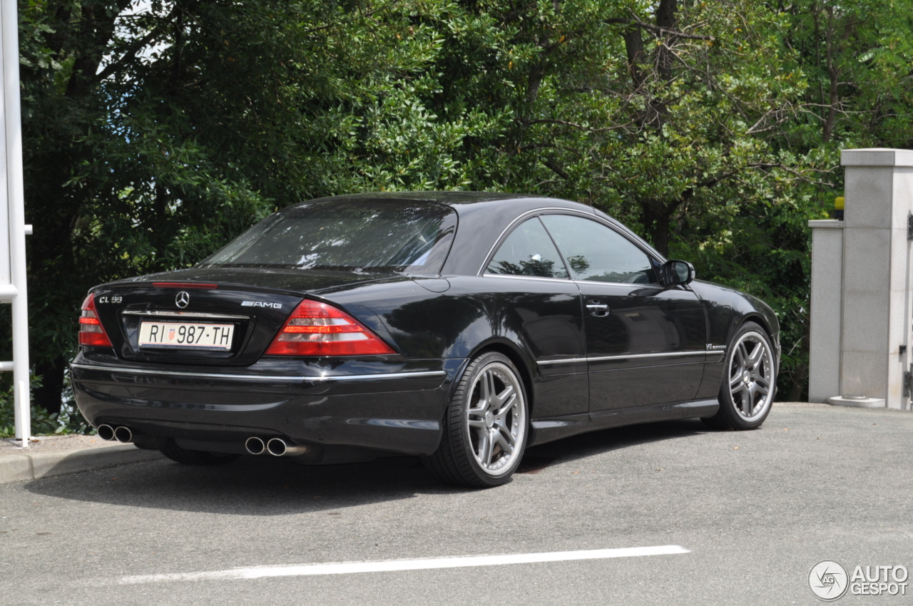 Mercedes Benz Cl 55 Amg C215 Kompressor 14 July 2014