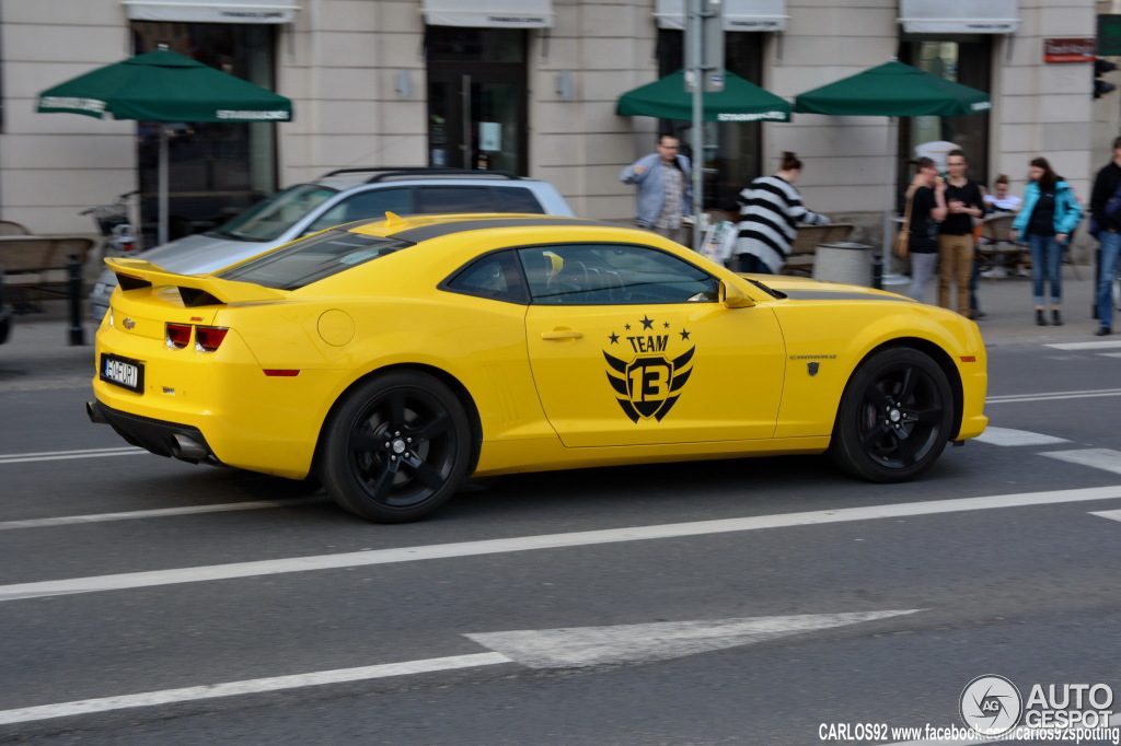 Chevrolet Camaro Ss Transformers Edition 17 Juli 2014