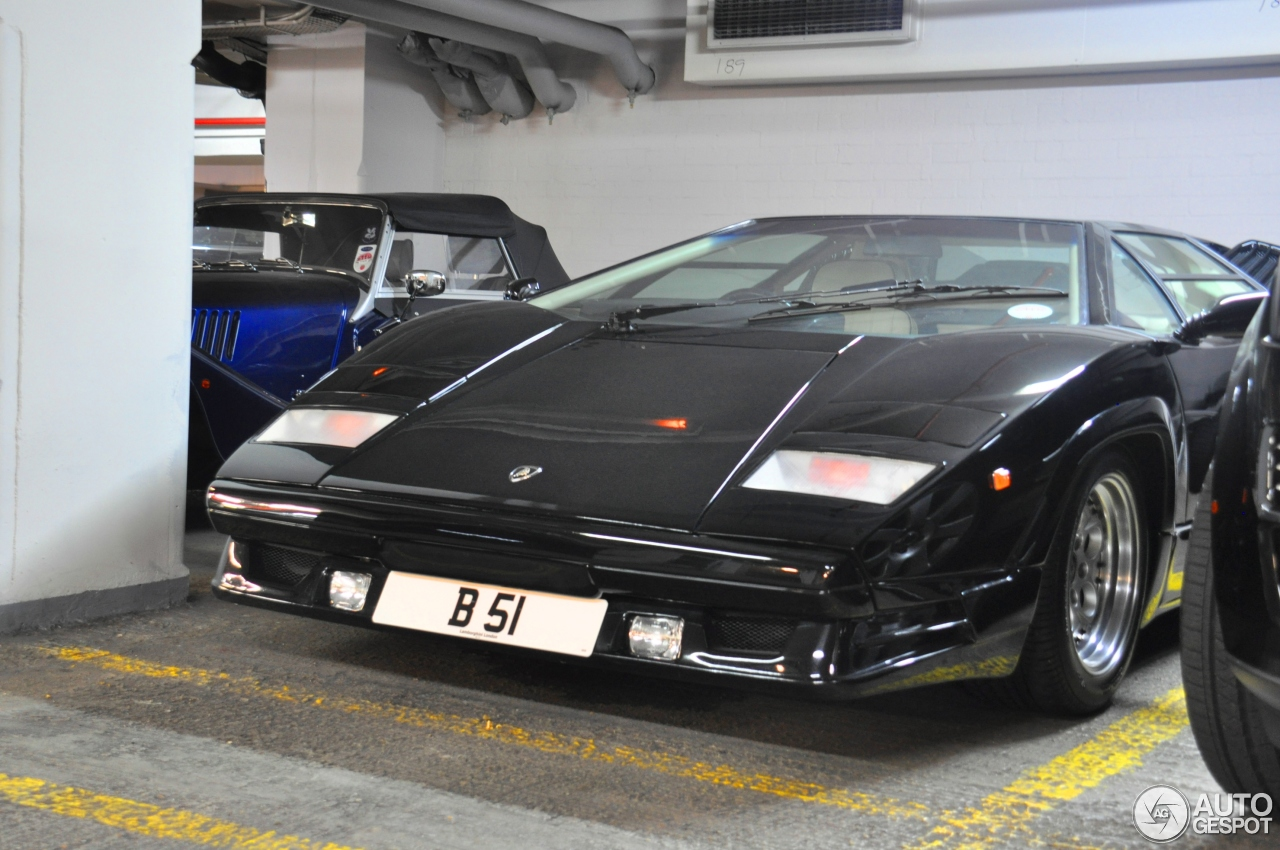 lamborghini countach 25th anniversary 17 julio 2014 autogespot. Black Bedroom Furniture Sets. Home Design Ideas