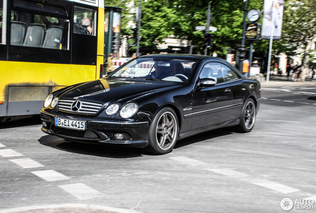 mercedes benz cl 65 amg c215 17 july 2014 autogespot. Black Bedroom Furniture Sets. Home Design Ideas