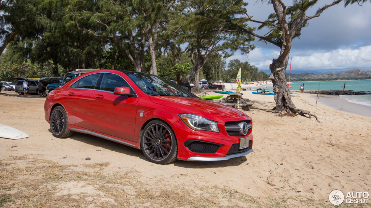 Mercedes benz cla 45 amg c117 17 july 2014 autogespot for 2014 mercedes benz cla 45