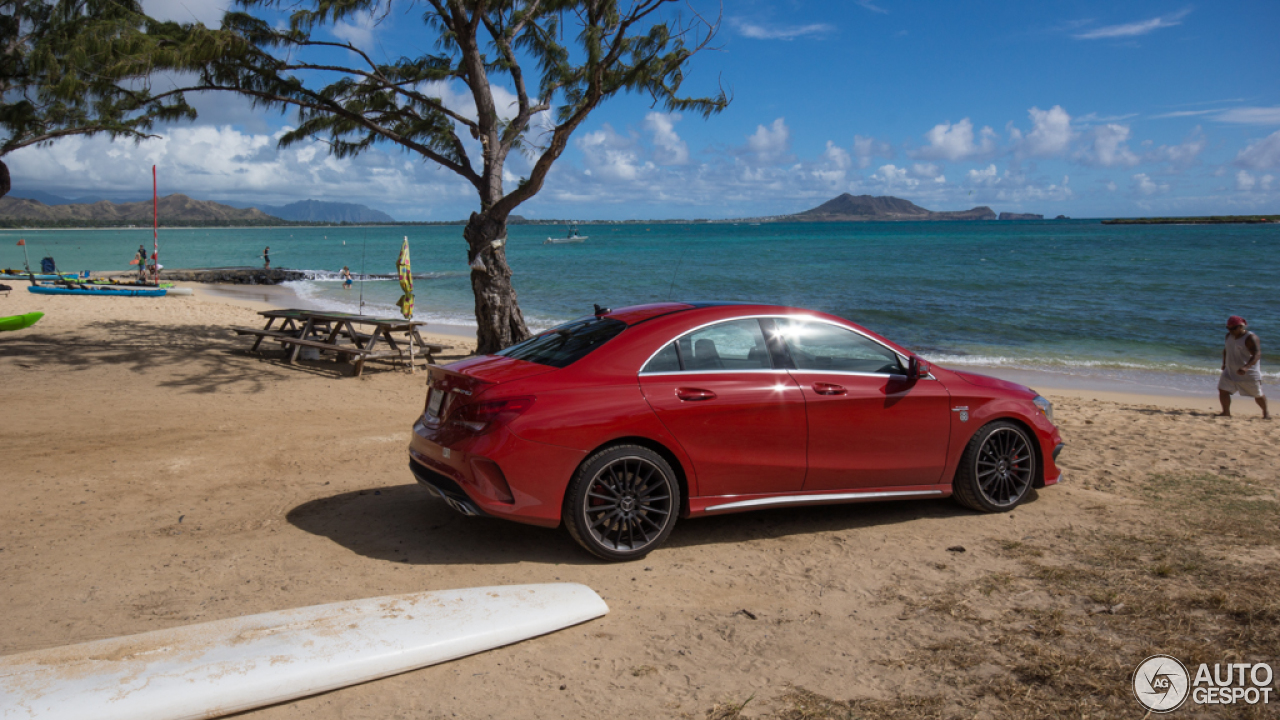 Mercedes benz cla 45 amg c117 17 july 2014 autogespot for Mercedes benz oahu