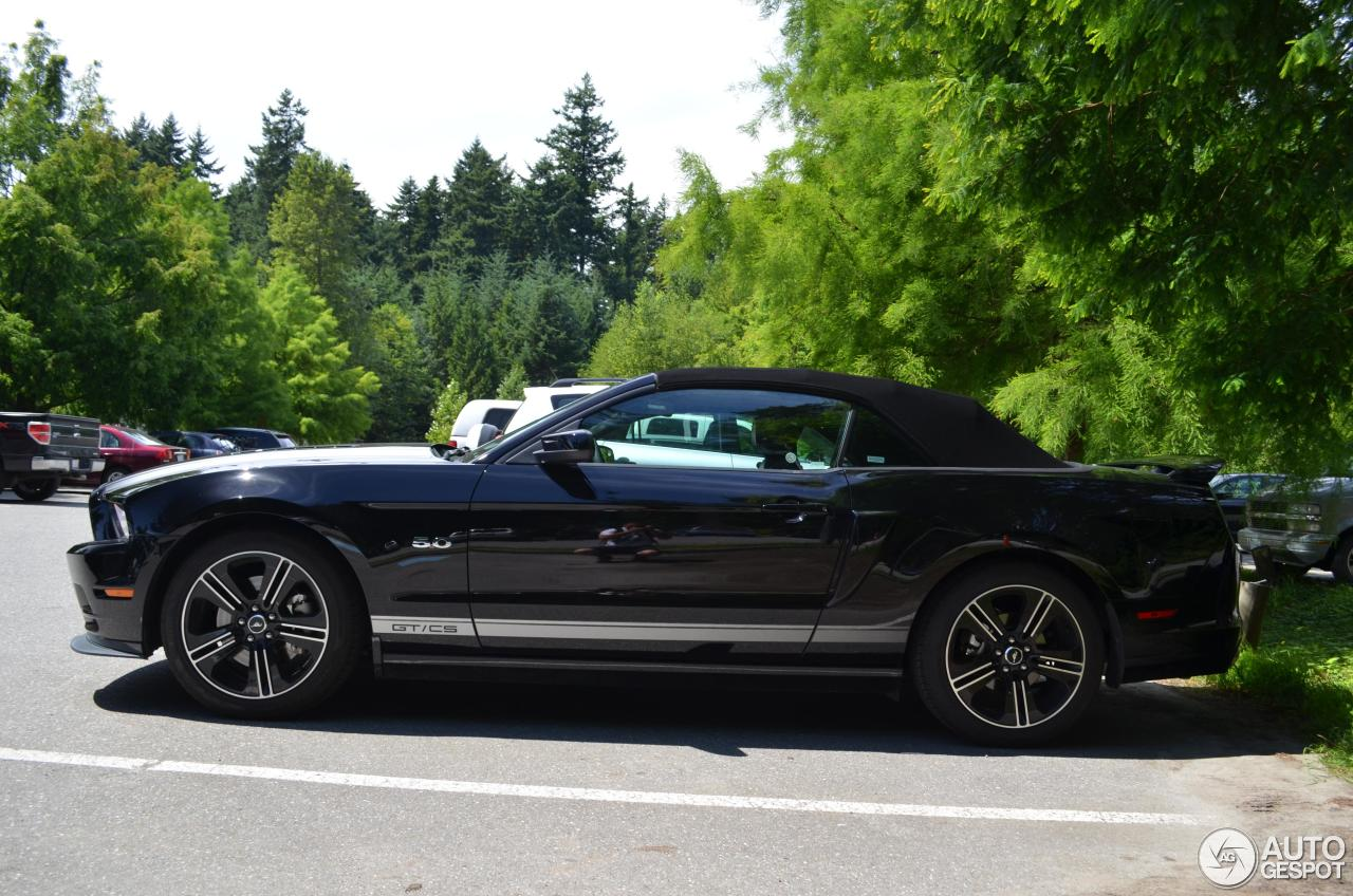Ford Mustang Gt California Special Convertible 2012 18