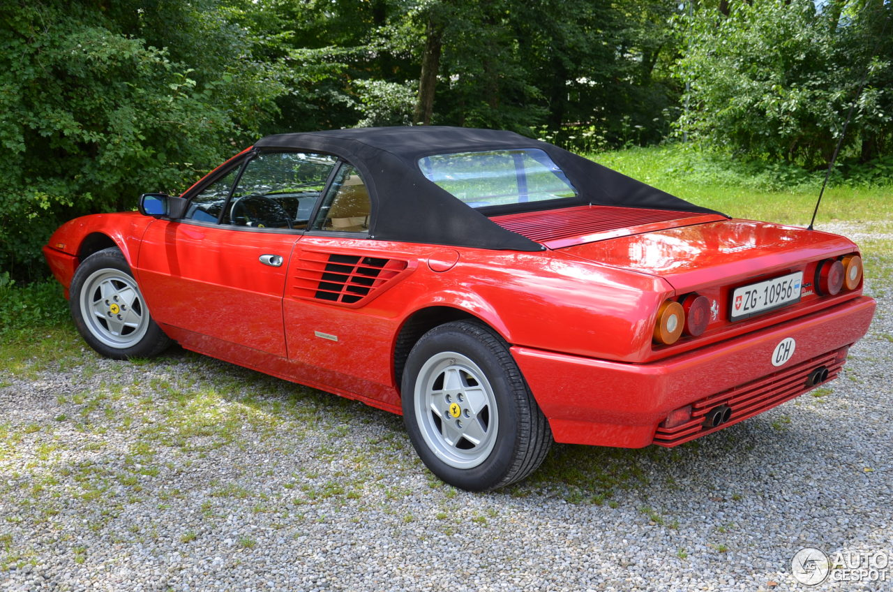 ferrari mondial 3 2 cabriolet 19 july 2014 autogespot. Black Bedroom Furniture Sets. Home Design Ideas