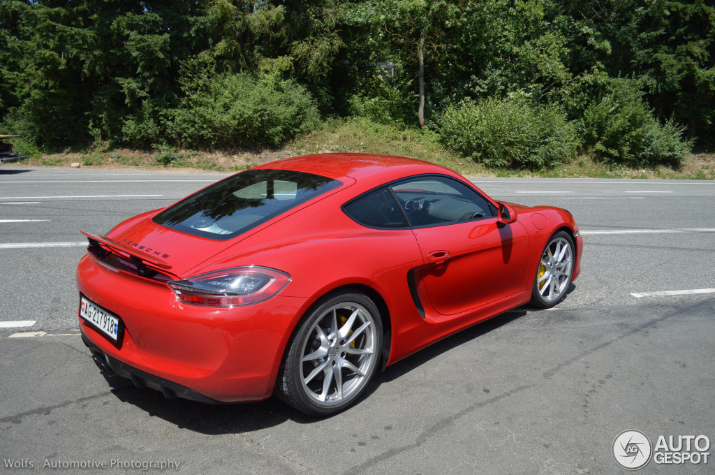 porsche 981 cayman gts 19 july 2014 autogespot. Black Bedroom Furniture Sets. Home Design Ideas
