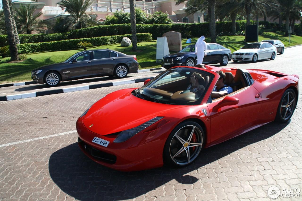 Ferrari 458 Spider 20 July 2014 Autogespot