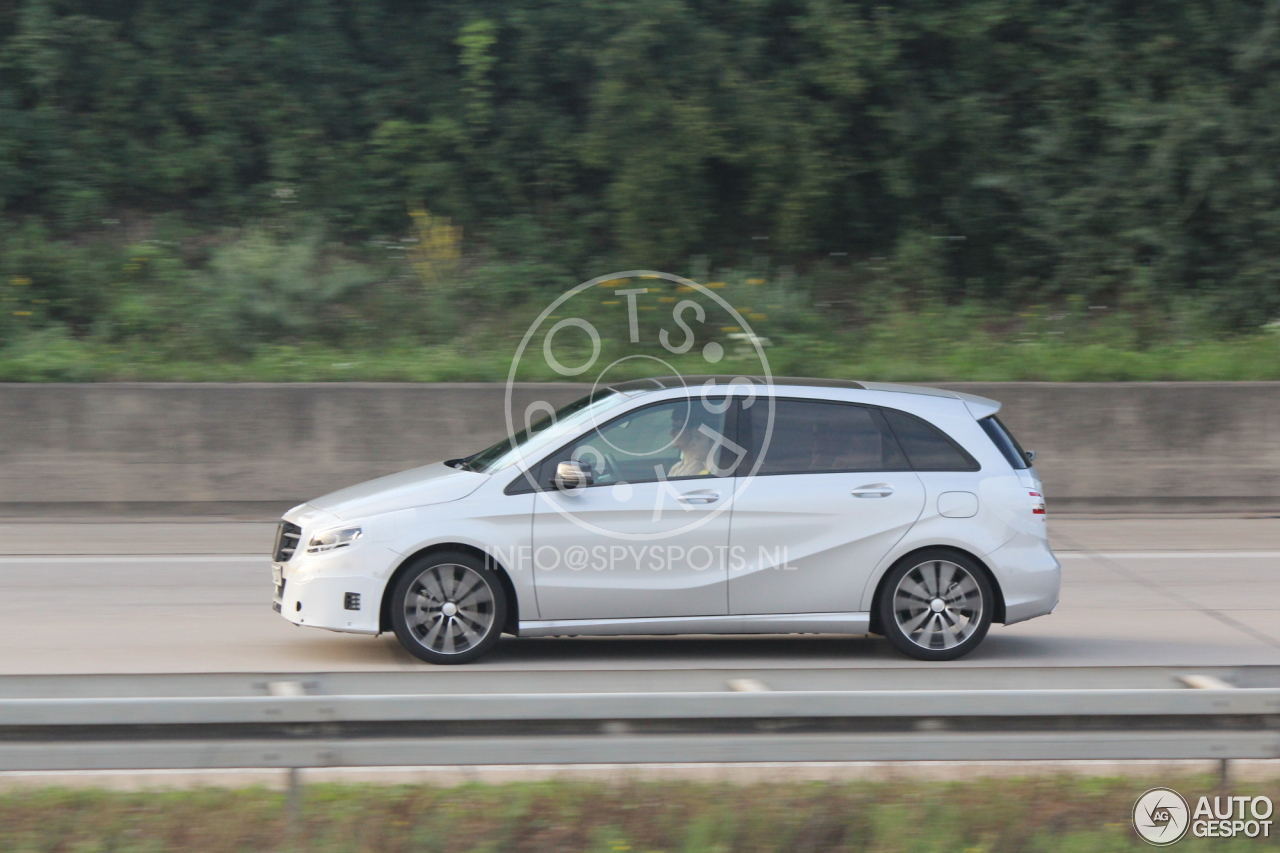 Mercedes Benz B Klasse W246 2015 20 July 2014 Autogespot