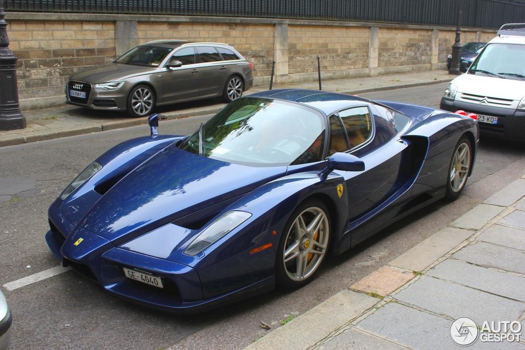 Ferrari Enzo Blue