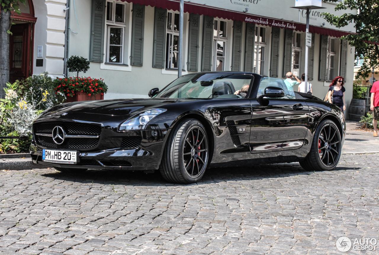 Mercedes Benz Sls Amg Gt Roadster 22 July 2014 Autogespot