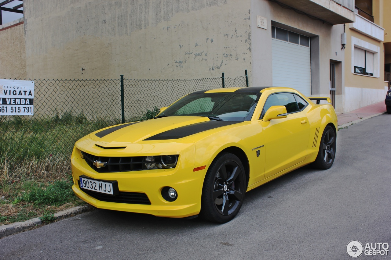 Chevrolet Camaro Ss Transformers Edition 2012 25 July