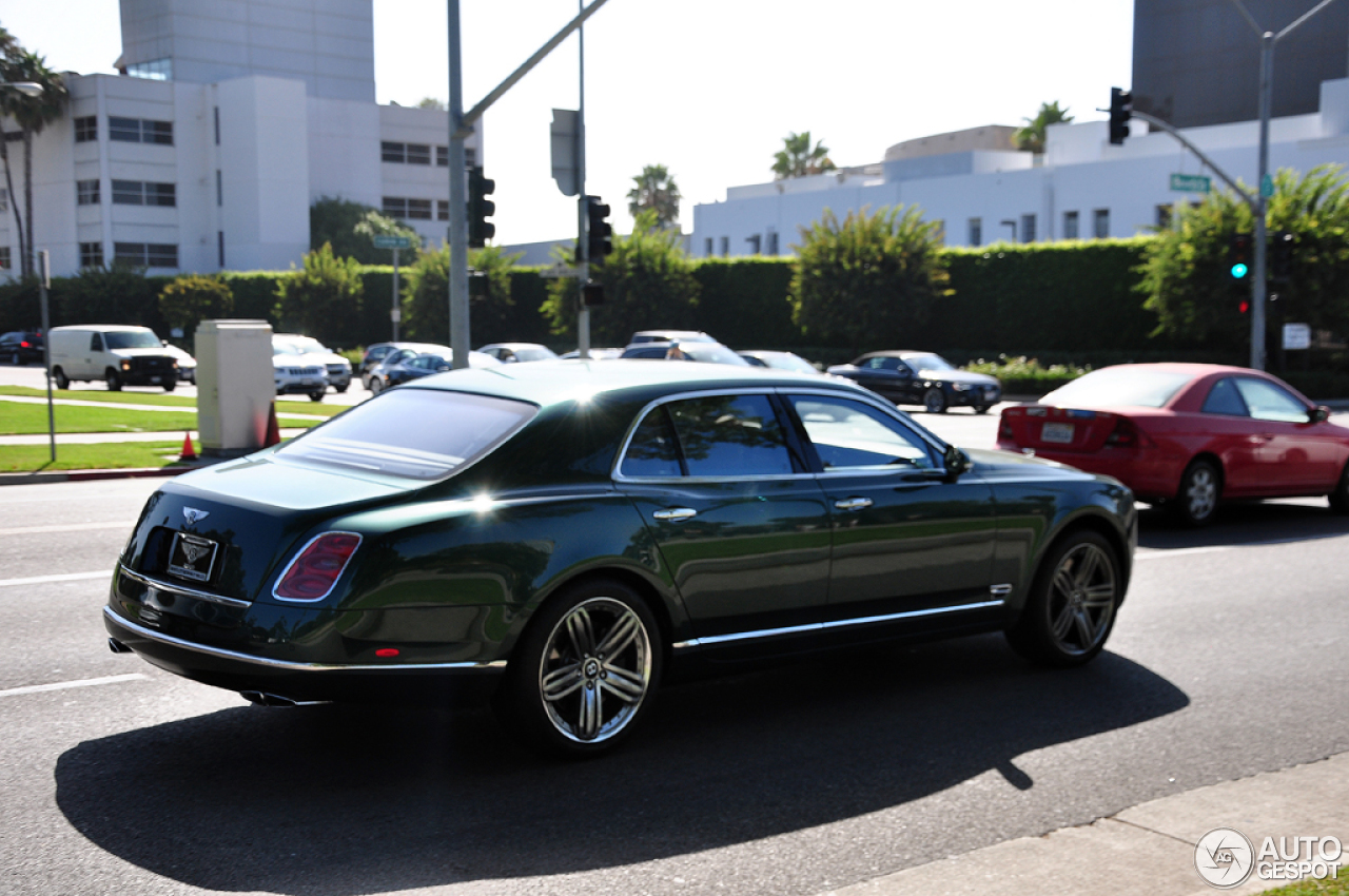 Bentley Mulsanne Le Mans Limited Edition 27 July 2014